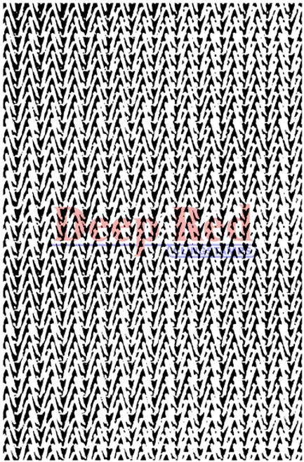 Metal Mesh Background Rubber Cling Stamp by Deep Red Stamps