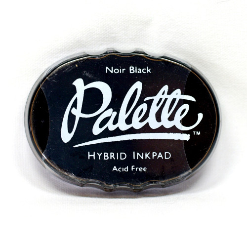 Noir Black Palette Hybrid Ink Pad