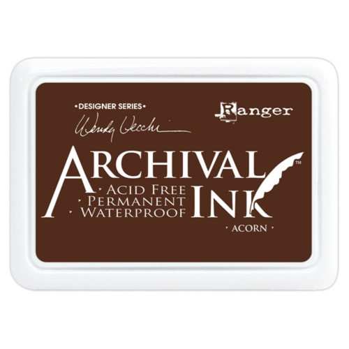 Ranger Archival Acorn Ink Pad by Wendy Vecchi
