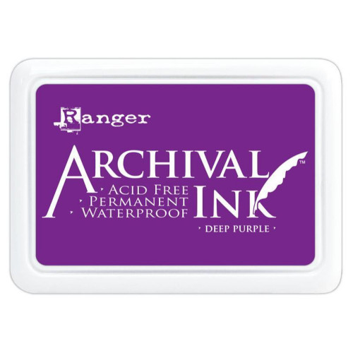 Ranger Archival Deep Purple Ink Pad