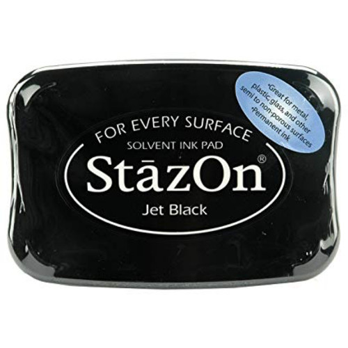 StazOn Jet Black Full Size Ink Pad