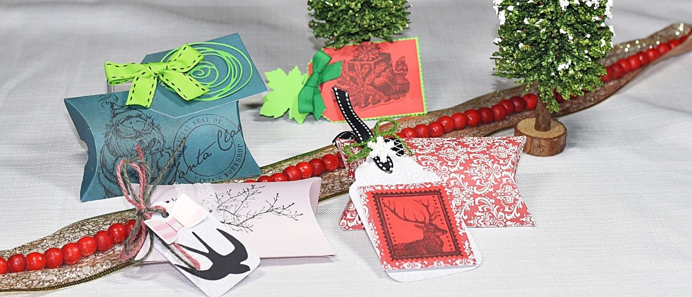 Stamped Gift Boxes