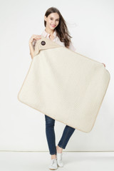 Radia Smart ORGANIC radiation shielding Blanket front Faraday Blanket