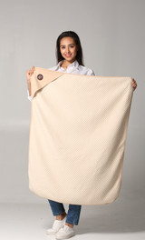 Large Protective Belly Pregnancy Baby Blanket, Organic, Anti-Radiation, EMF Blanket