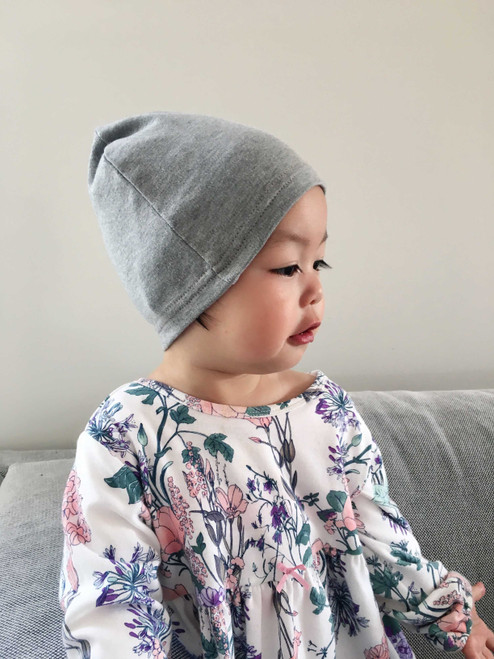 Radia Smart Protective Baby Toddler Hat/Beanie Cap Blocking RF EMF Radiation - Cell Towers - WiFi Grey