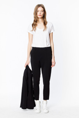 PANDA CREPE PERMANENT PANTS