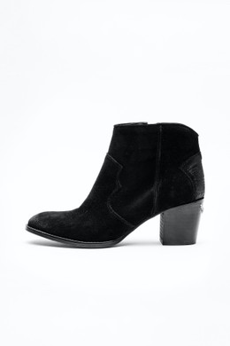 MOLLY SUEDE SHOES NOIR