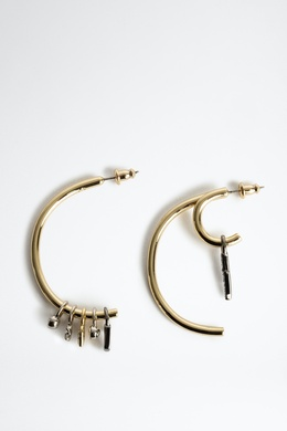 MIX N MATCH HOOP EARRING