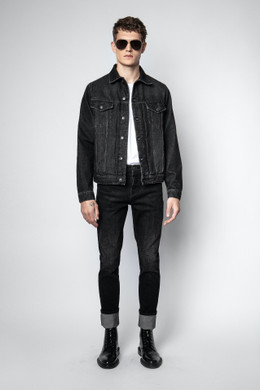 BASE DESTROT DENIM JACKET