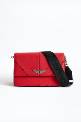 LOLITA  LEATHER BAG RED