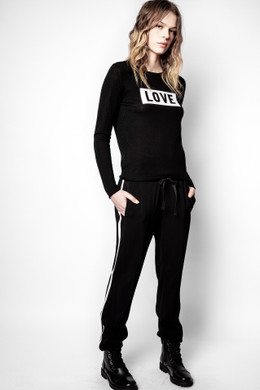 POMY SIDE BAND PANTS