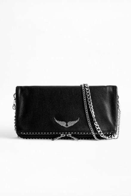ROCK GRAINED LEATHER + STUDS