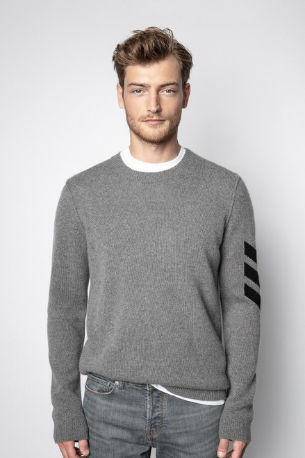 KENNEDY ARROW CASHMERE SWEATER