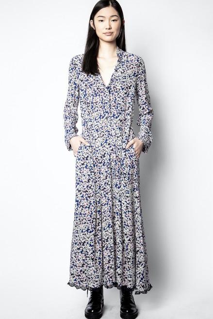 RELIC BEGONIA PRINT DRESS