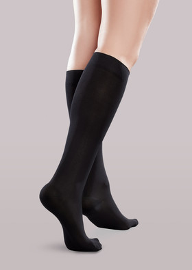 Ease Microfiber Women's Mild Support  Knee Highs