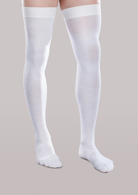 CoreSpun Moderate Support Thigh High Socks