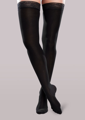 Ease Microfiber Women's Mild Support Thigh Highs