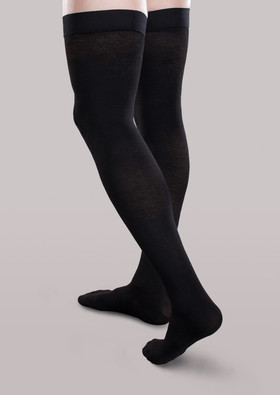 CoreSpun Firm Support Thigh High Socks