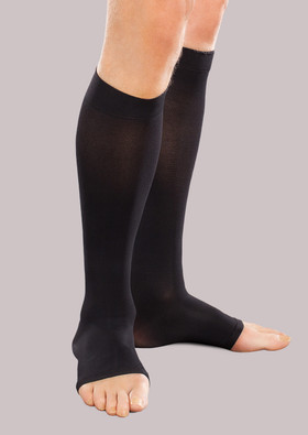 Ease Unisex Moderate Support Open-Toe Knee High