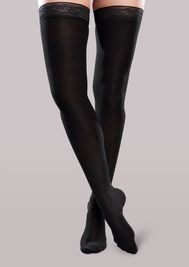 Ease Microfiber Women's Moderate Support Thigh Highs