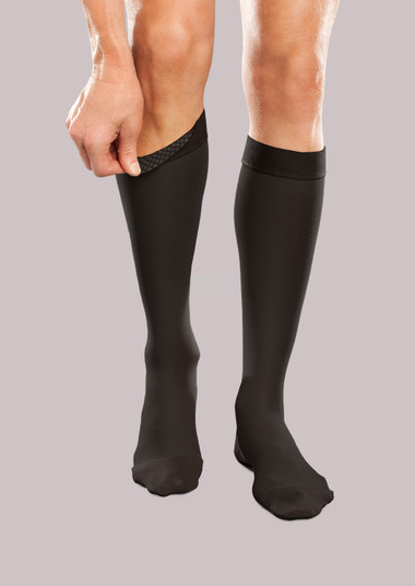 Ease Unisex Firm Support Knee High with Silicone Dot Band