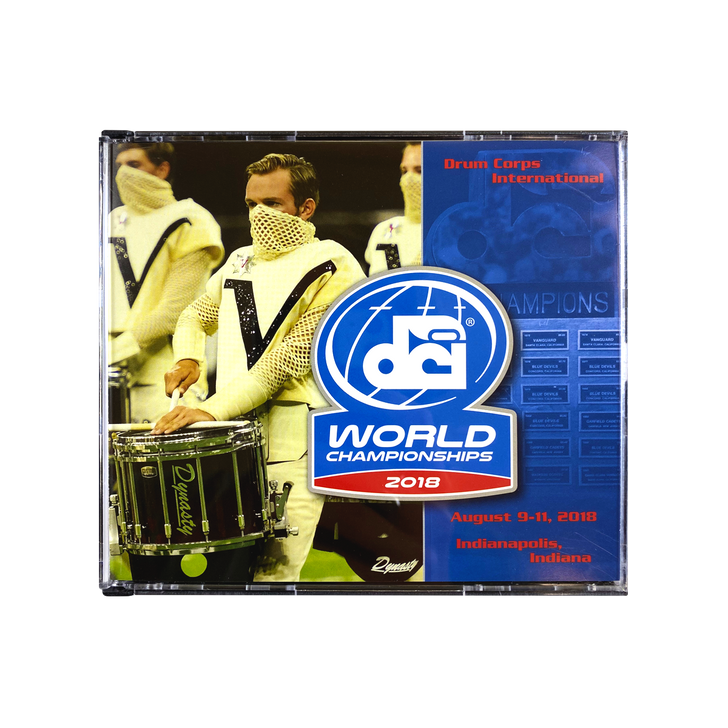2018 World Championships CD