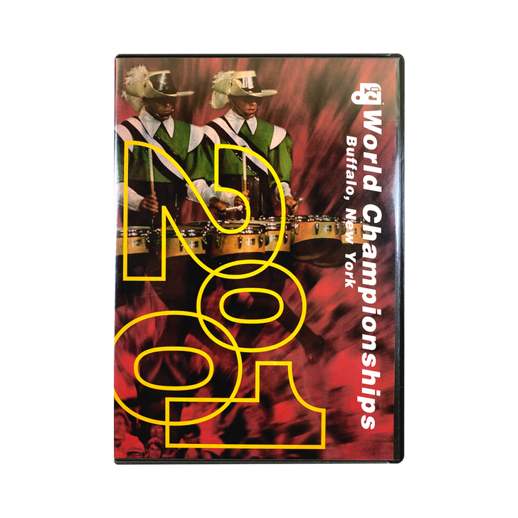 2001 DCI DVD Top 12 Corps