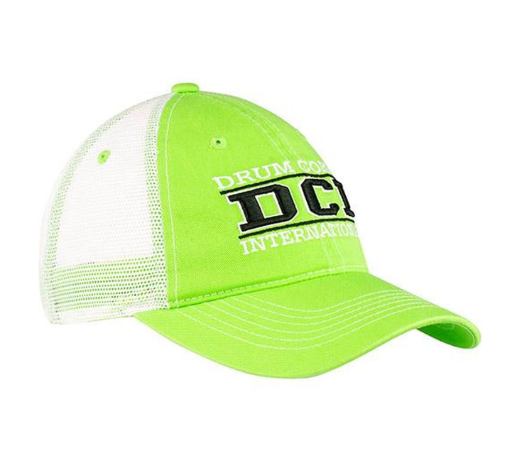 DCI Bright Green Cap