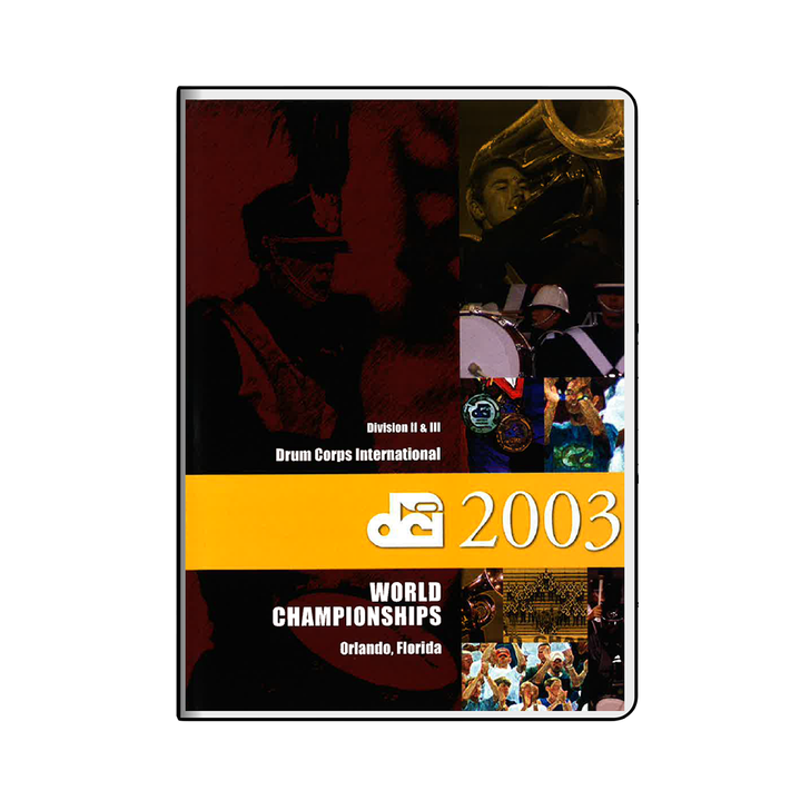 2003 World Championships Division II & III DVD