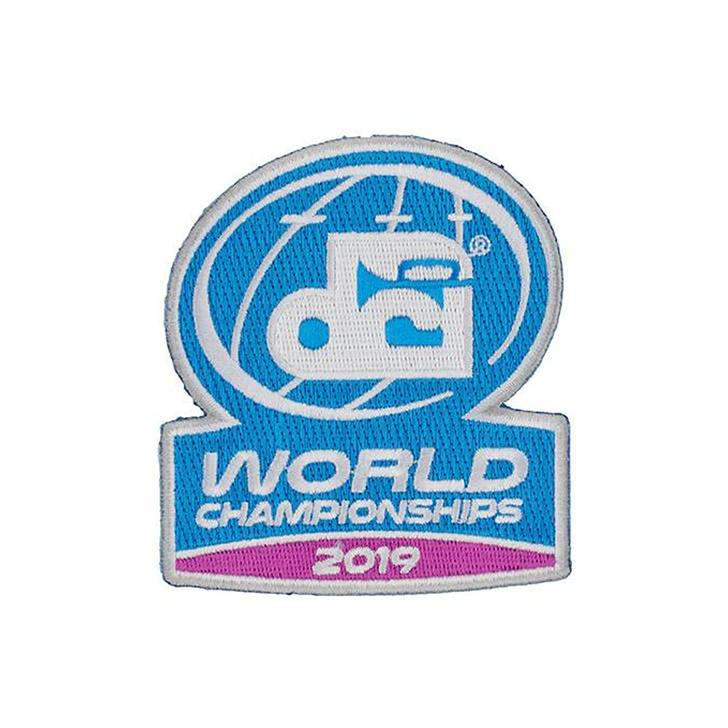 DCI 2019 World Championship Patch