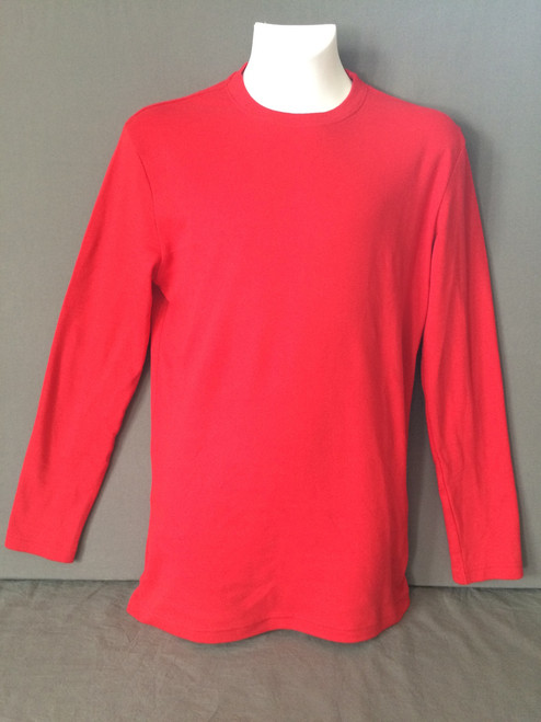 2020 Adult Red Long Sleeve TEE ONLY - Ready to Ship - FINAL SALE