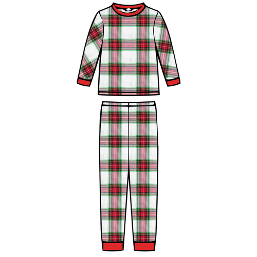 Children's Pajama Set - Plaid - 2021 Christmas Collection Pre-Order