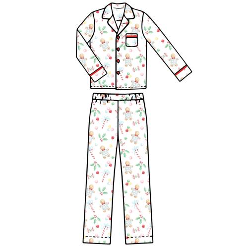 Adult Pajama Set - Gingerbread Boy - 2021 Christmas Collection Pre-Order