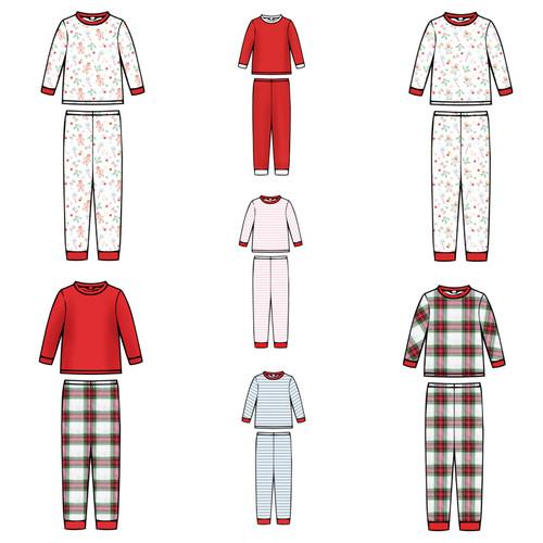 Doll Pajama Set  - 2021 Christmas Collection Pre-Order
