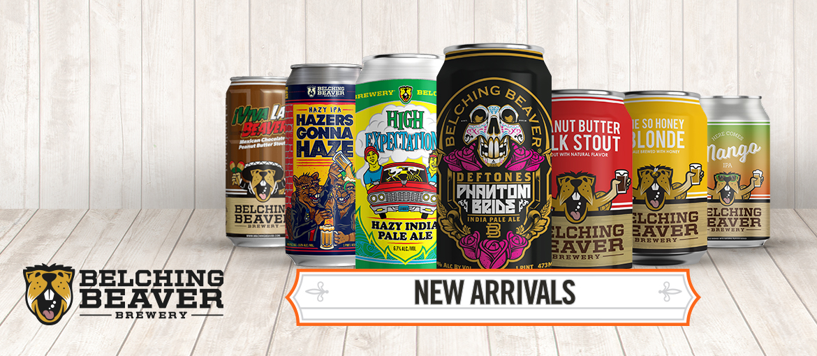 Newest brewery added to the Craft Beer Lovers Portfolio, Belching Beaver Brewery