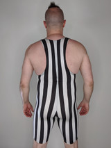 Retro Stripe Muscle Singlet