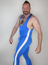 Side Stripe Muscle Singlet