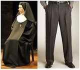 Why do men dress like Nuns?