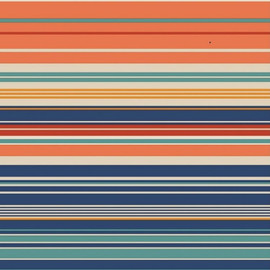 Carrington Stripe Sherbert