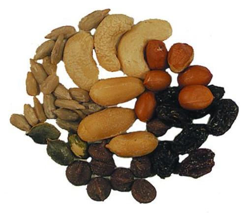 Hi Energy Mix (Peanuts, Spanish Peanuts, Chocolate chips, Pepitas, Raisins, Sunflower seeds, cashew splits)