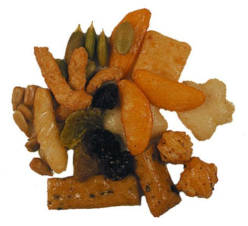 Vals Mix (Worcestershire Snackens, Cajun Sesame Sticks, Cajun Hot Sticks, Wasabi Peas)