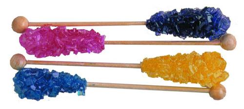 Rock Candy Swizzle Sticks