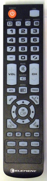 Element XHY353-3 Remote Control ELEFW328 ELEFT426 ELEFT506