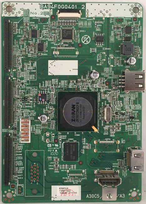 Magnavox Main Board A04A0MMA-001 for 26MD350B/F7 DS1 - Front