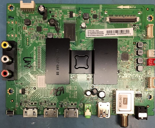 TCL 08-CS48CFN-OC402AA Main Board for 48FS3700