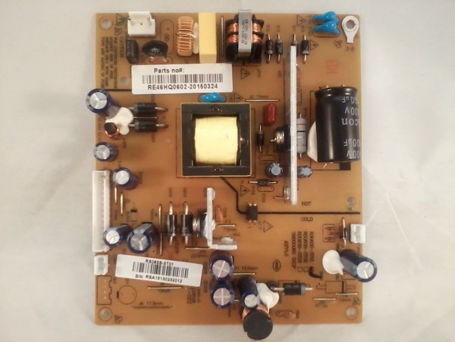 RCA RE46HQ0602 Power Supply / LED Board (front)