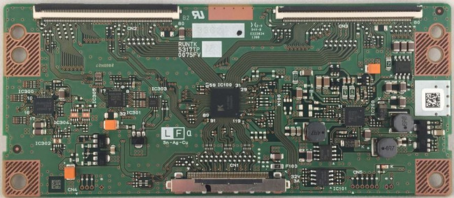 RCA RUNTK5317TPZG T-Con Board (front)