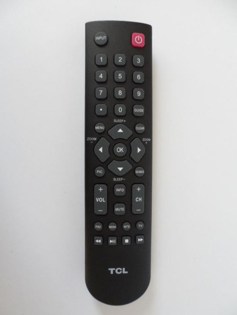 TCL 06520W37E003X Remote Control for 40FD2700, 32D2700, 28D2700, 48FD2700