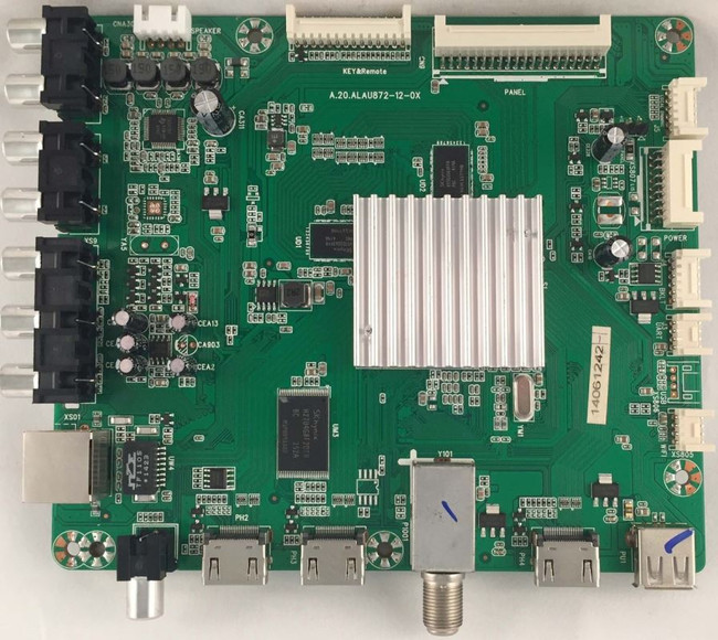 RCA 50RE0110872LNA1-A1 Main Board for SLD50A45RQ - Front