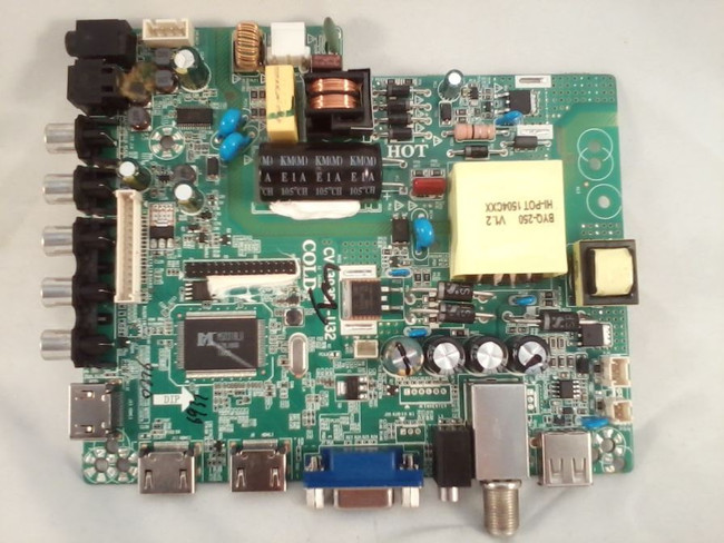 Element DX-15003 Main Board / Power Supply (front)